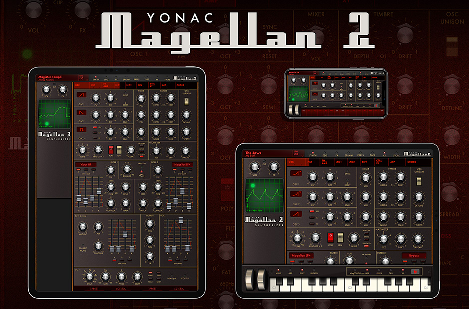 Magellan Synthesizer 2 for iOS and iPad OS